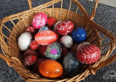 Corund easter eggs
