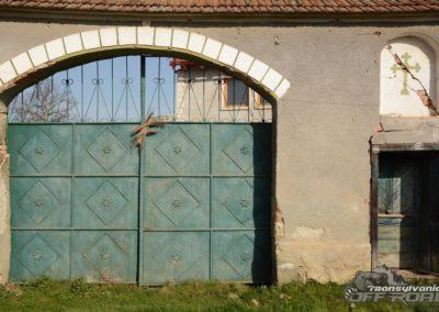 Saxon Gate in Romania