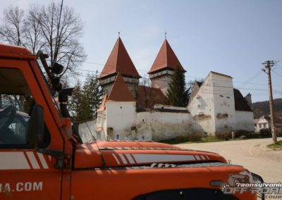 saxon church in transylvania