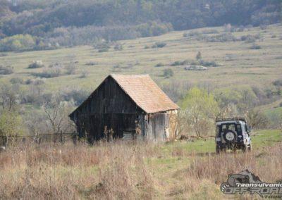 remote village in transylvania