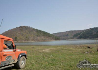 Lake zetea romania