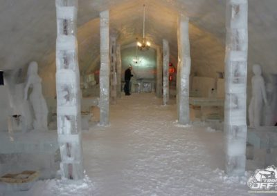 Ice Hotel on Transfagarasan
