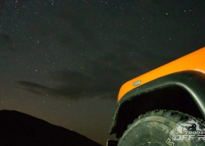 Night Shoot of Landrover