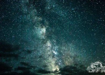 Milky Way in Transylvania
